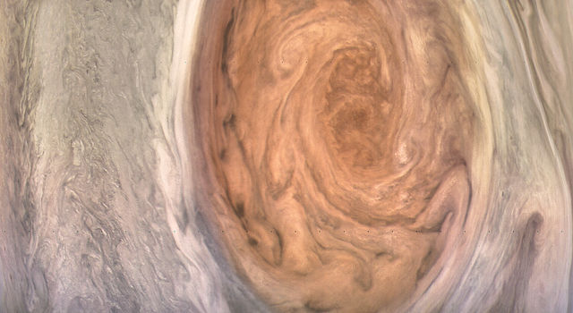 Jupiter's Great Red Spot Revealed