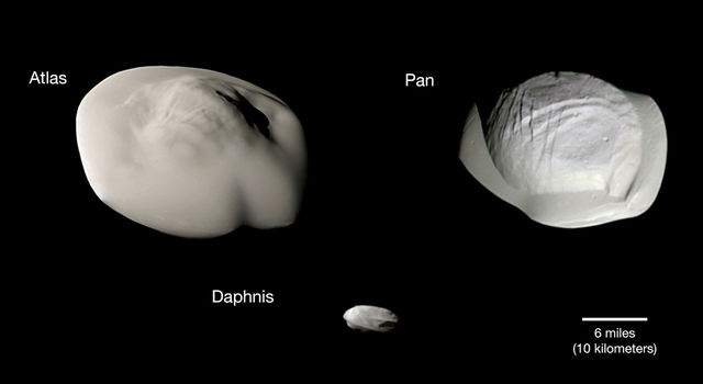 Atlas, Daphnis and Pan