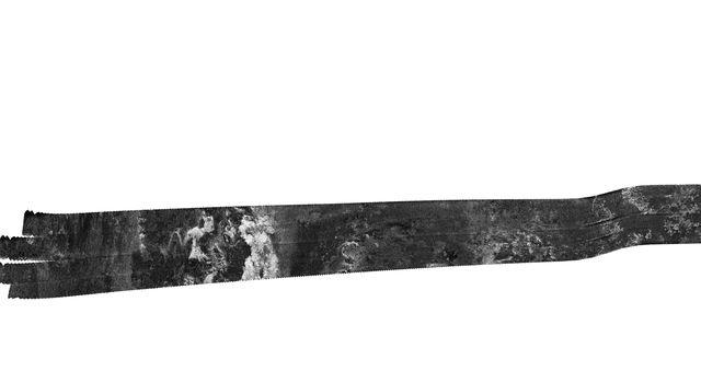 Cassini's Final Titan Radar Swath