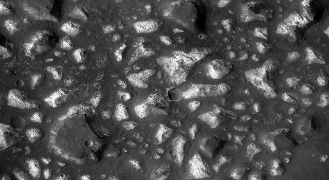 Possible Floor of an Ancient Martian Sea