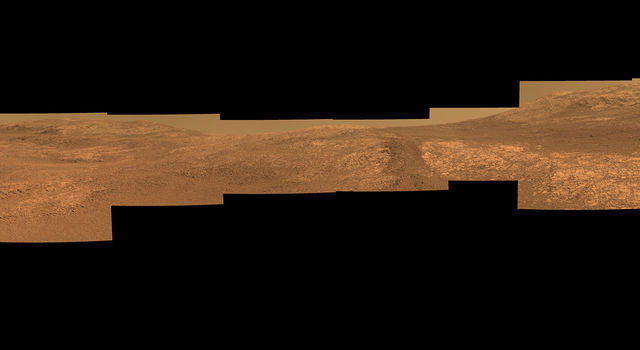 Perseverance Valley on Mars