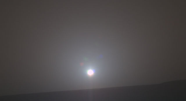 NASA's Mars Exploration Rover Opportunity recorded the dawn of the rover's 4,999th Martian day, or sol
