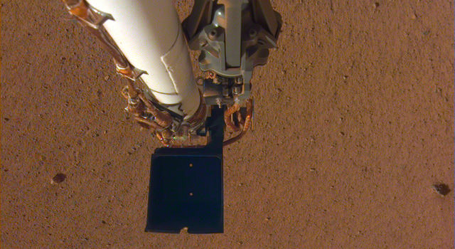 InSight's robotic arm
