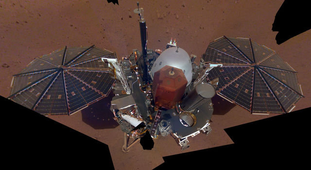 NASA InSight's first selfie on Mars