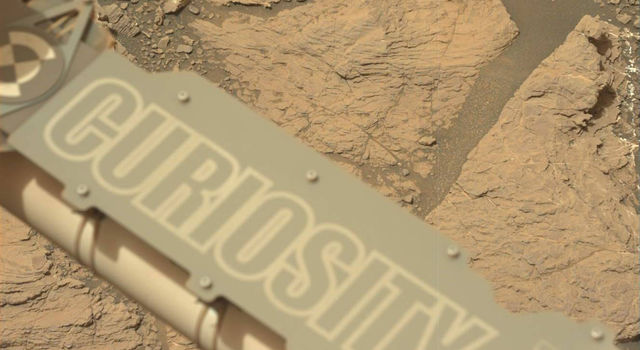 NASA's Curiosity Mars took this image with its Mastcam