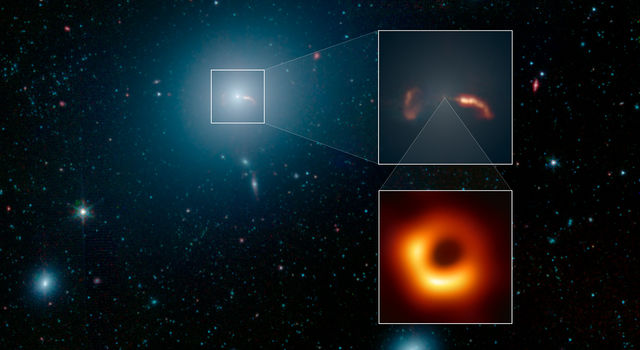 News | The Giant Galaxy Around the Giant Black Hole