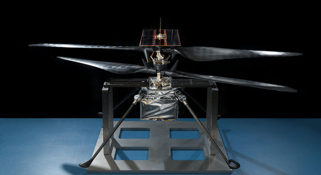 Flight model of NASA's Mars Helicopter