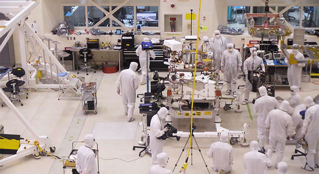 team of engineers at NASA's Jet Propulsion Laboratory in Pasadena, California