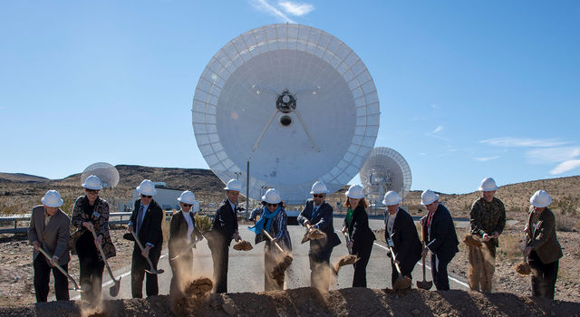 On Feb. 11, 2020, NASA, JPL, military and local officials broke ground in Goldstone, California