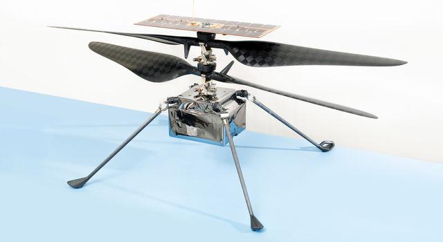 The flight model of NASA's Ingenuity Mars Helicopter