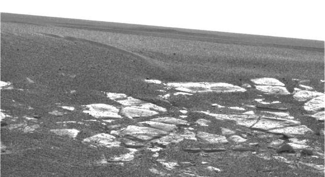 outcrop near Opportunity