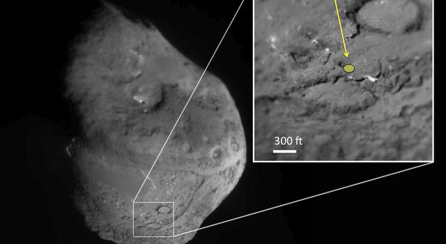 Comet Tempel 1, in Context