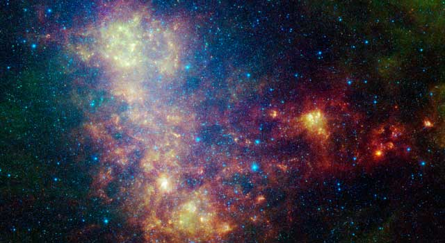 infrared portrait of the Small Magellanic Cloud