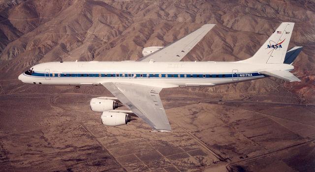NASA's DC-8 airborne lab