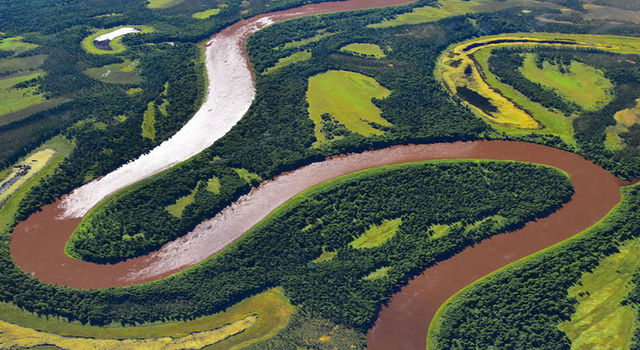 Kuskokwim River near McGrath, Alaska
