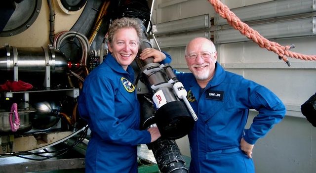 JPL's Dr. Pan Conrad and Dr. Lonne Lane
