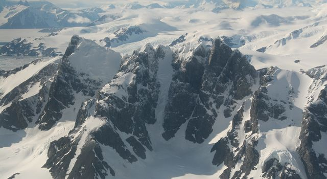 Antarctic Peninsula from the air