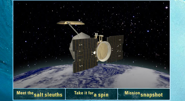 New Interactive Takes You 'Under the Hood' of NASA's Salt-seeking Aquarius Mission