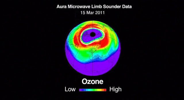 Unprecedented Arctic Ozone Loss in 2011