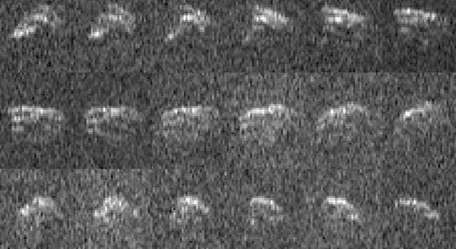 Radar Images of Asteroid 2013 ET