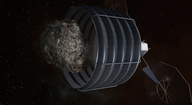 NASA's FY2014 budget proposal includes a plan to robotically capture a small near-Earth asteroid
