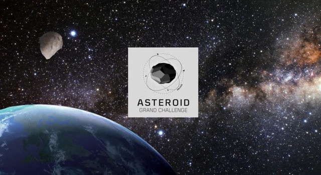 NASA's Asteroid Data Hunter contest series was part of NASA's Asteroid Grand Challenge