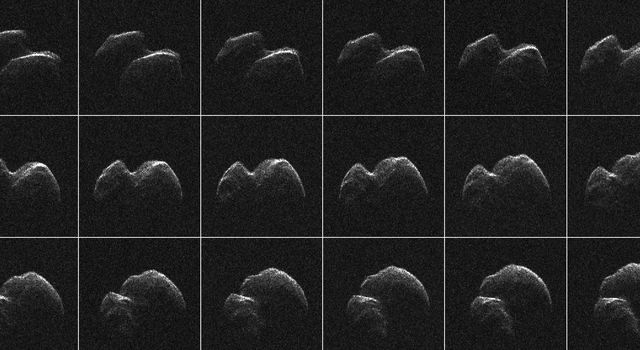 Radar Imagery of Asteroid 2014 JO25