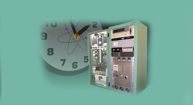 graphic depicting atomic clock