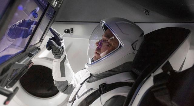 NASA astronaut Robert Behnken