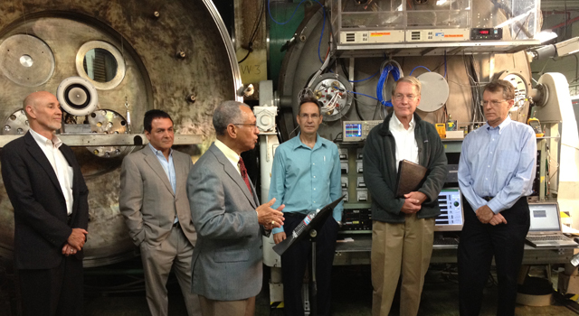 NASA Administrator Visits JPL, Discusses Asteroid Initiative