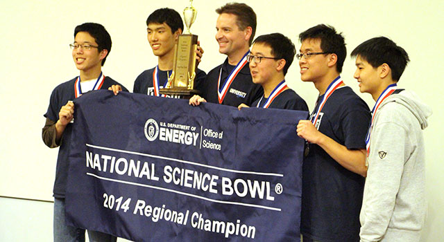 University High School Wins 2014 Los Angeles Regional Science Bowl