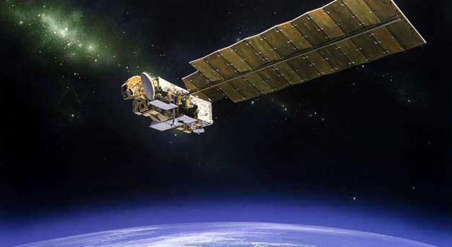 artist concept of Aura spacecraft