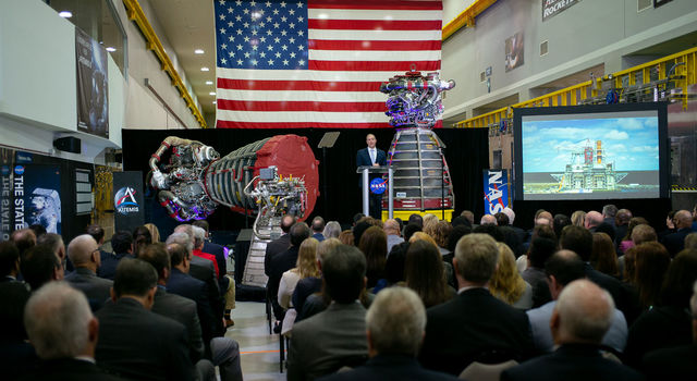 NASA Administrator Jim Bridenstine delivers the State of NASA address