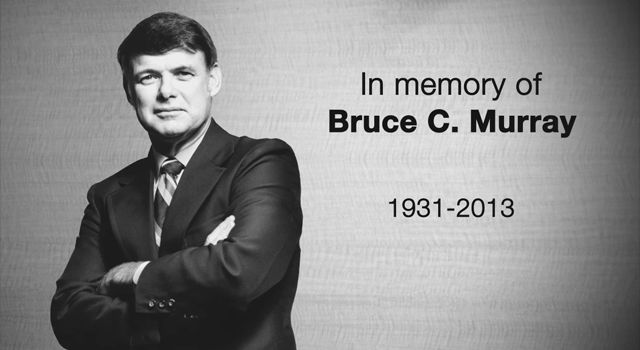In Memory of Bruce C. Murray