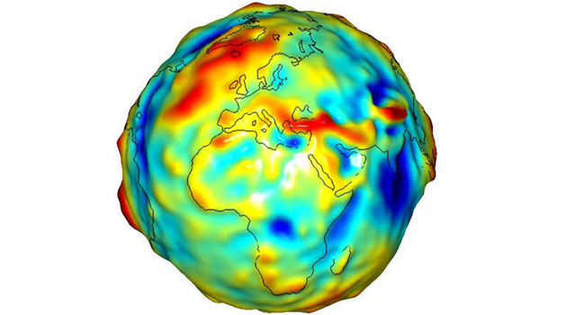 model of Earth gravity