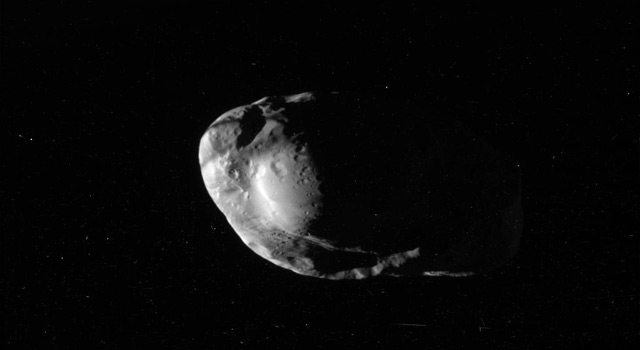 Prometheus as seen by Cassini