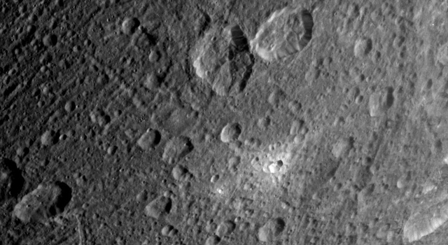 Dione Close-Up