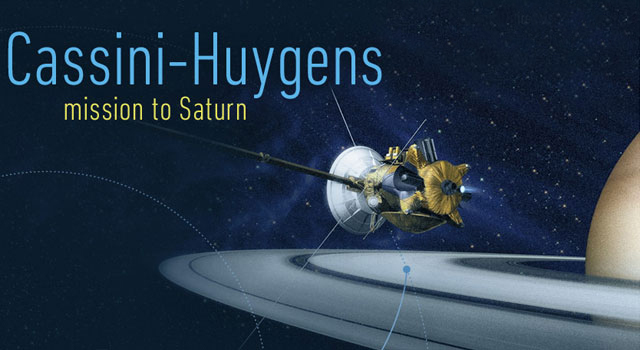 A new interactive timeline of NASA's Cassini mission at Saturn