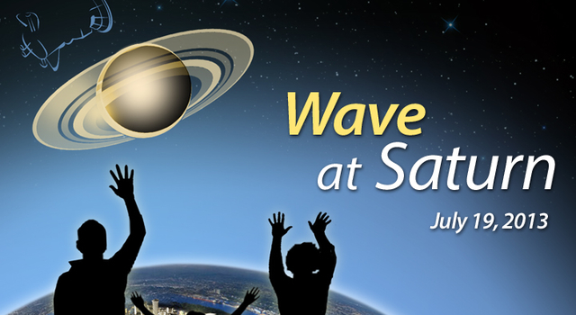 Wave at Saturn