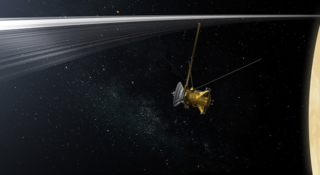 With help from the public, members of NASA's Cassini mission have chosen to call the spacecraft's