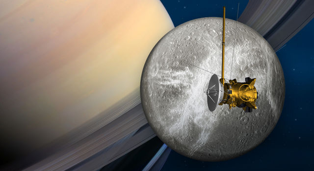 Cassini's penultimate encounter with Saturn's moon Dione is slated for June 16.