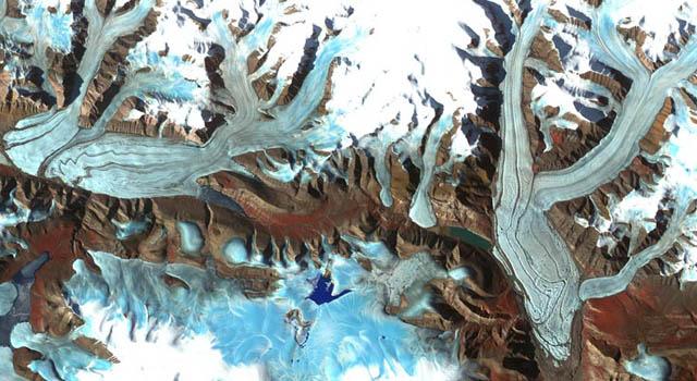 Chapman glacier
