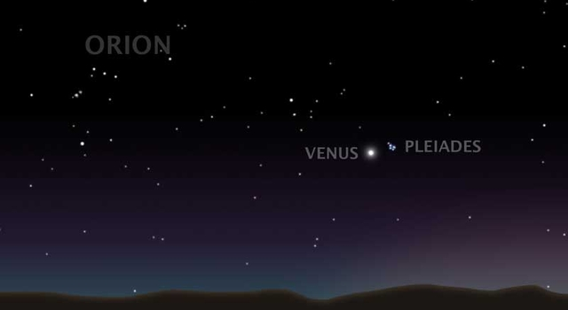 Night Sky Chart: News | The Seven Sisters Pose for Spitzer - and for You!,Chart