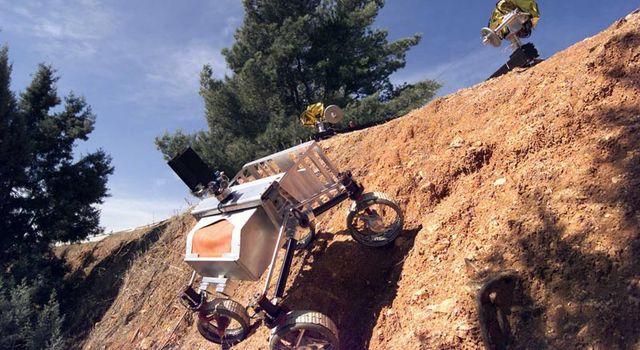 Cliff-bot rover