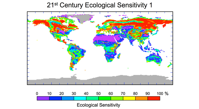 21st Century Ecological Sensitivity - Changes in Plant Species