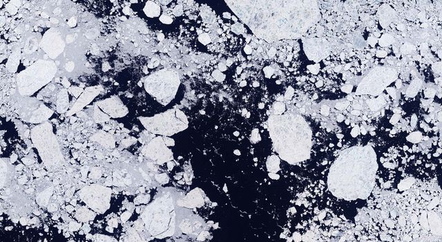 NASA scientists track global temperate and sea ice data to better understand Earth's climate.