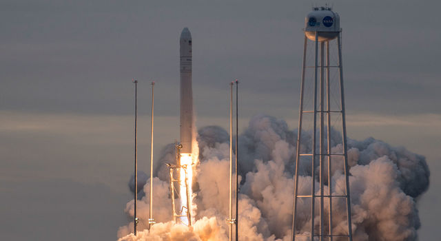 Orbital ATK's Cygnus spacecraft launched