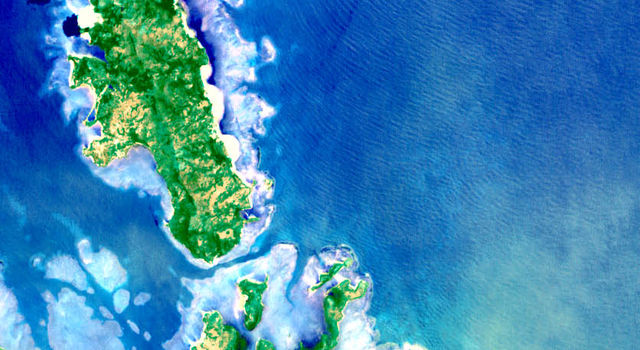 Reefs off the Philippines