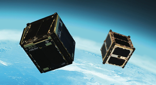 Two JPL-Led CubeSats (Artist's Concept)