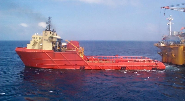 Captain Greig's towing operations in the Gulf of Mexico.